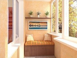 Внутренняя отделка балконов и лоджий в Тамбове